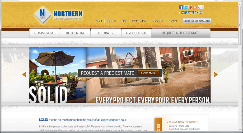 Great Northern Portland Cement Co : Digital marketing success how one concrete company does