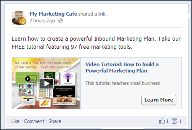 Facebook Call-to-Action